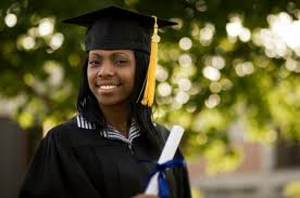 black woman grad